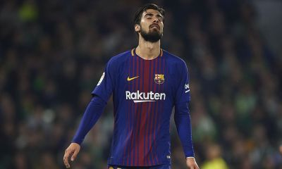 Barcelona star Andre Gomes