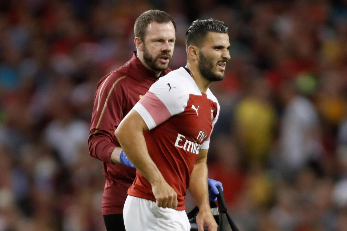 Arsenal defender Kolasinac faces lengthy injury absence