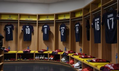 Arsenal Dressing Room