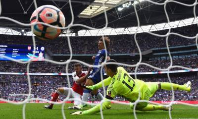 Aaron Ramsey Scores Against Chelsea