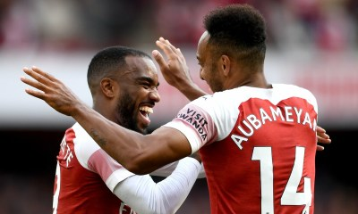 Lacazette and Aubameyang