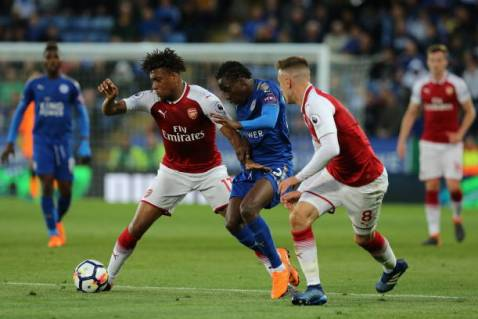 Image result for arsenal vs leicester city