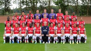 Arsenal First Team 2013/14