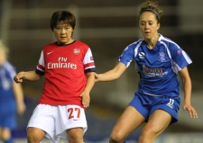 Arsenal Ladies aiming for goals at he Hive this Sunday