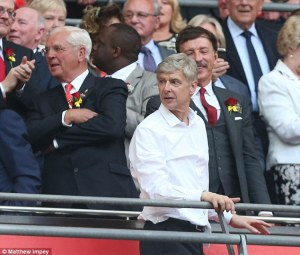 Sir Chips is confident Arsene can bring more trophies
