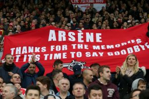 Arsene brushes off questions on his future
