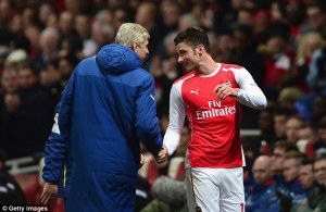 You've got me Arsene you don't need any other strikers!