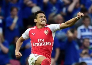 Alexis double fires Gunners to FA Cup Final