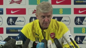 Another Wembley final for Arsene
