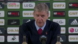 Arsene on victory over Swans