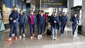 Barca heading to London for clash with Gunners