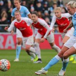 Arsenal Ladies pay the penalty for sending off in defeat to Manchester City
