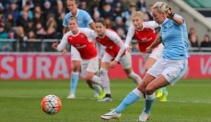Toni Duggan seals Arsenal Ladies fate with late penalty goal