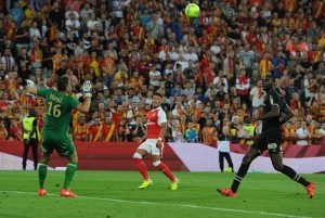 Ox equalises to earn Gunners draw with FC Lens
