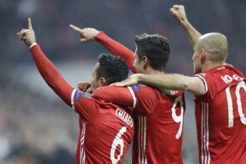 Arsenal outclassed and comprehensively beaten 5-1 by Bayern Munich