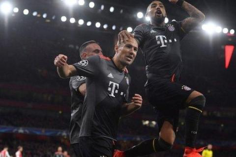 Déjà vu for Arsenal as they exit Champions League