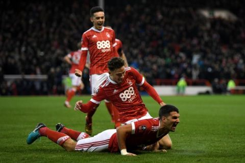 Nottingham Forest dump Arsenal out of the FA Cup