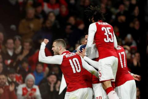 Arsenal reach the EFL Cup Final after beating Chelsea