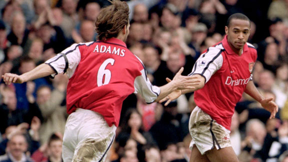 Tony Adams to work alongside Thierry Henry as Arsenal U18s ...