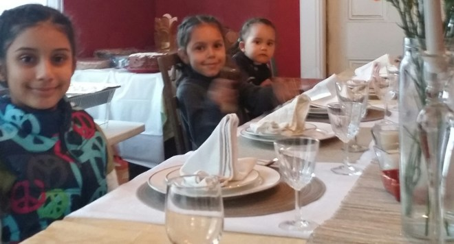 Kids at the Table