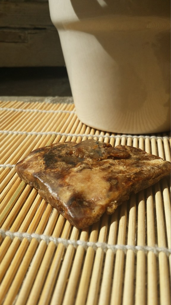 African Black Soap close up