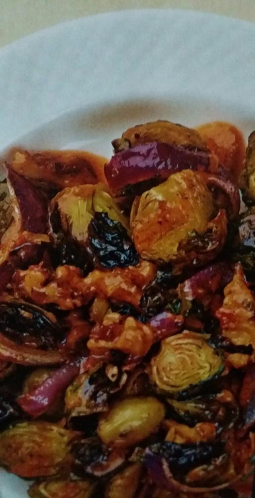 Roasted Vegetables Plate