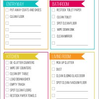 Quick Cleaning Checklist - Get Ready for Guests in Less Than an Hour!
