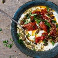 Try This--Savory Yogurt Bowls For Breakfast and Snacks
