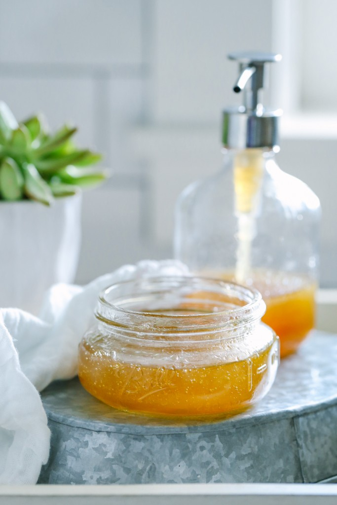 DIY Honey and Aloe Summer Face Wash