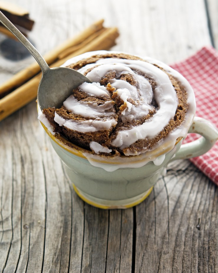 Try This---(Paleo) Cinnamon Roll In A Mug