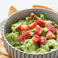 Try This---Summer Fruit Guacamole