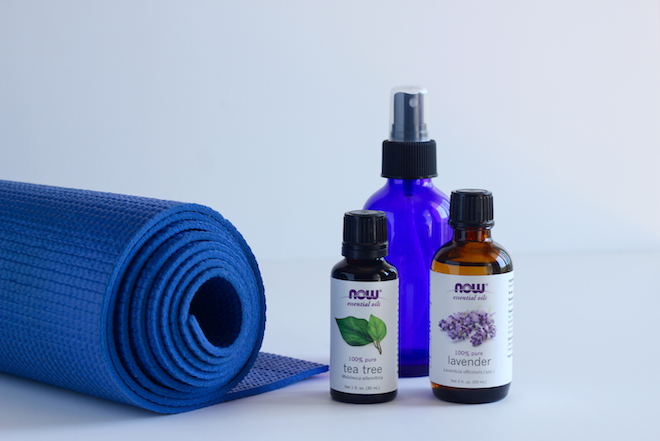 DIY Yoga Mat Cleaner With Essential Oils