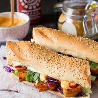 Try This---Tofu Bánh Mì (the vegetarian-friendly spin on the classic Vietnamese Sandwich )