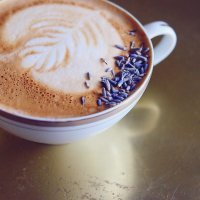 Try This---Honey Lavender Latte