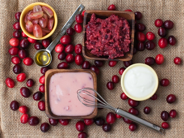 Perfect-for-Autumn Cranberry Face Mask---Spa Days at Home