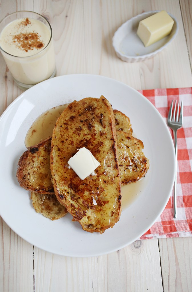 Try This---Eggnog French Toast