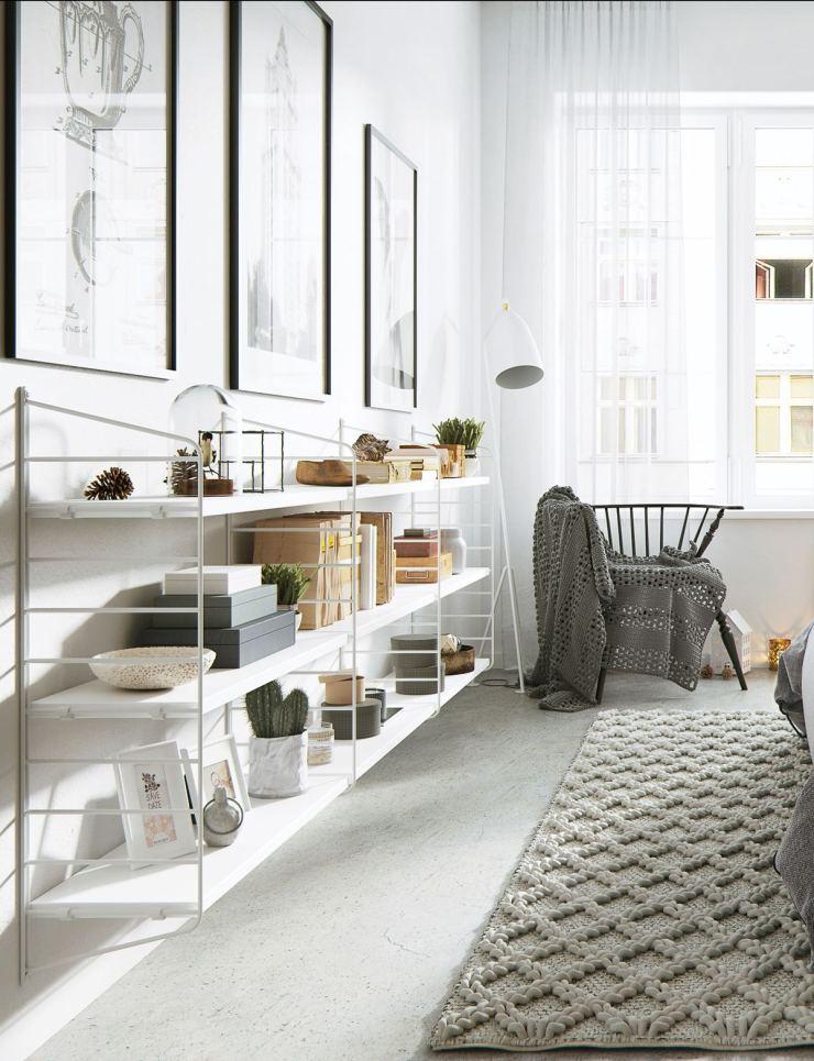 Scandinavian Inspired Interior---Fixer Upper Friday