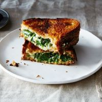 Try This---Spanakopita Grilled Cheese