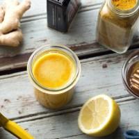 Immunity Boosting Ginger Lemon Wellness Shot