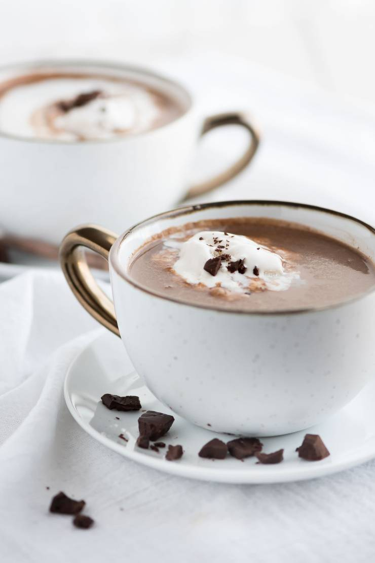 Slow Cooker Coconut Hot Chocolate