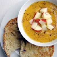 Try This- Butternut Squash, Sour Cream, and Apple Cider Soup