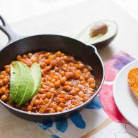 Try This---Spiced Chickpeas With Harissa and Tamarind