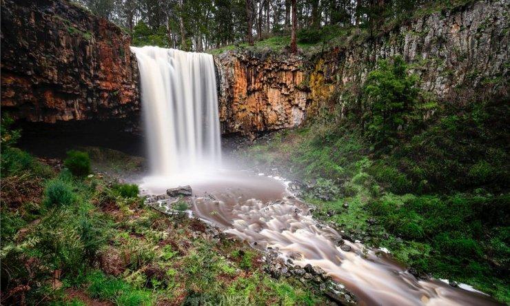 Trentham Falls Australia