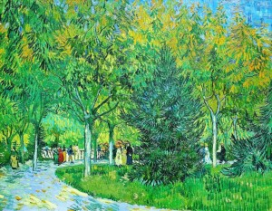 Vincent Van Gogh - A Lane in the Public Garden at Arles