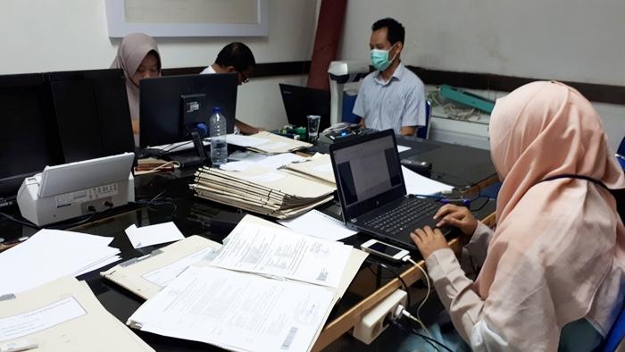 Pendataan Arsip Vital Subdit. Kepegawaian Universitas Airlangga