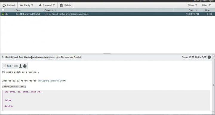 Inbox webmail
