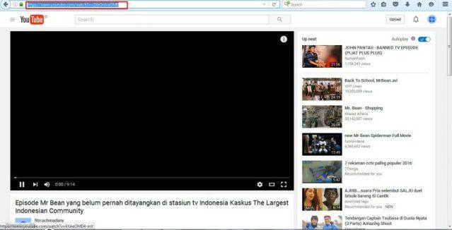 Copy URL video image