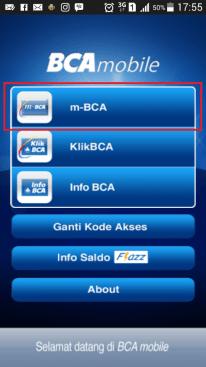 Aplikasi m-BCA