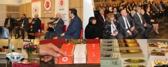 Brüksel Başkonsolosluğu türkü, şiir, taşlama sesleri ve ortak bir sofrada yemek, sohbet ve muhabbet sesleri doldu