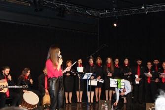 Brüksel Genç Sesler Korosu ilk konserinde sınıfı geçti